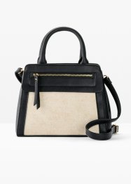 Tasche mit Canvas, bpc bonprix collection