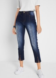 7/8-Jeans mit Schlitz vorn, bpc bonprix collection