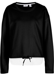 Sweat-shirt 2 en 1, bpc bonprix collection