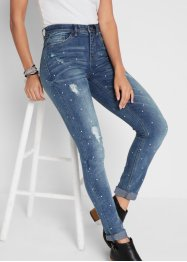 Jean extensible soft stretch SLIM FIT, imprimé, John Baner JEANSWEAR