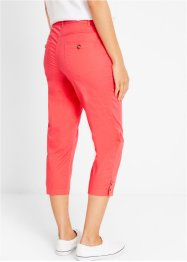 Pantalon 3/4 avec patte de boutonnage, bpc bonprix collection
