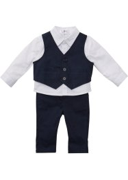 Chemise bébé + veston + pantalon (Ens. 3 pces.), bpc bonprix collection