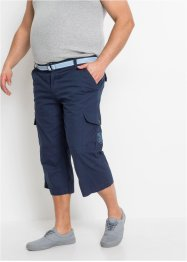 Pantalon 3/4 avec ceinture, Loose Fit, bpc bonprix collection