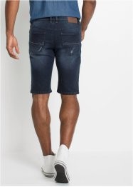 Stretch-Jeans-Bermuda, Slim Fit, John Baner JEANSWEAR