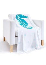 Hamam Tuch mit Seepferdchen, bpc living bonprix collection