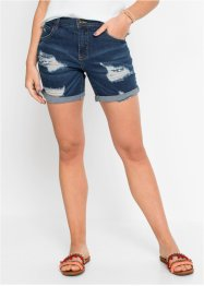 Short en jean destroyed, RAINBOW