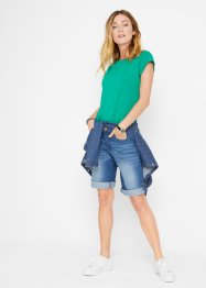 Short en jean confort stretch, John Baner JEANSWEAR