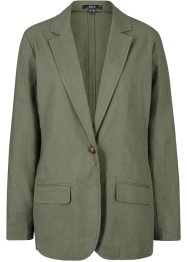 Leinen-Blazer, Loose Fit, bpc bonprix collection