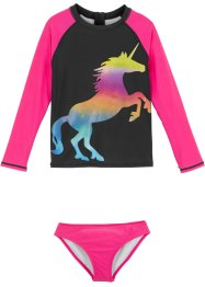 T-shirt de bain + bas de maillot fille (Ens. 2 pces.), bpc bonprix collection