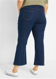 7/8-Jeans mit Bequembund, Flared, bpc bonprix collection