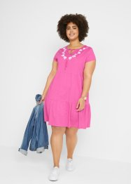 Robe-tunique en jersey, manches courtes, bpc bonprix collection
