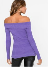 Off-Shoulder-Pullover mit Nieten, BODYFLIRT boutique