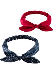 Lot de 2 bandeaux de cheveux, bpc bonprix collection