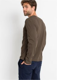 T-shirt col Henley, bpc bonprix collection