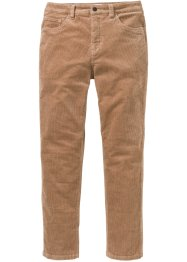 Pantalon velours côtelé extensible Classic Fit, Tapered, John Baner JEANSWEAR
