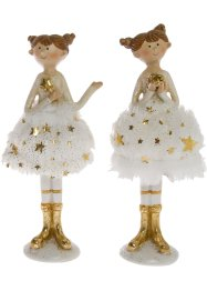 Deko-Figur Ballerina, 2er-Set, bpc living bonprix collection