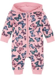 Baby Kapuzen-Sweatoverall Bio-Baumwolle, bpc bonprix collection