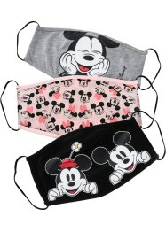 Lot de 3 masques grand public Mickey Mouse, Disney