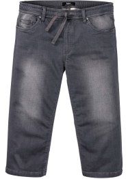 Regular Fit 3/4 Stretch-Jeans mit Komfortschnitt, Straight, bpc bonprix collection