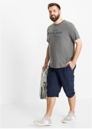 Cargo-Long-Bermuda mit Komfortschnitt, Regular Fit, bpc bonprix collection