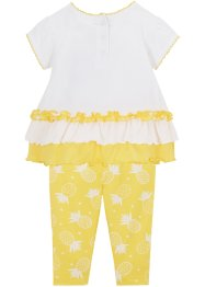 Baby T-Shirt und Leggings (2-tlg.Set) Bio Baumwolle, bpc bonprix collection