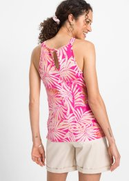 Florales V-Neck-Top, RAINBOW