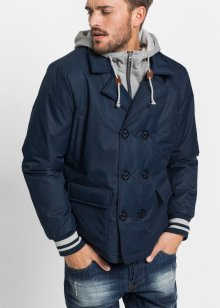 Funktions-Caban-Jacke Regular Fit, RAINBOW, dunkelblau