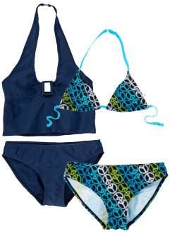 Bikini + tankini fille (Ens. 4 pces.), bpc bonprix collection
