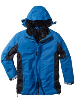 3-in-1 Funktionsjacke Regular Fit, bpc bonprix collection, blau/dunkelanthrazit