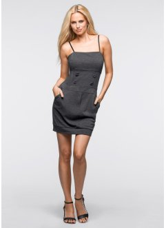 Stretch-Kleid, BODYFLIRT, grau