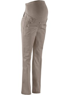 Umstandshose, Bootcut, bpc bonprix collection, taupe