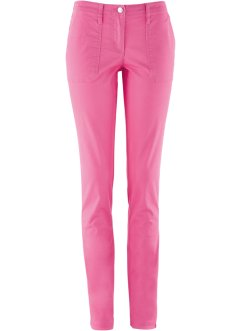Lycra-Hose mit geradem Bein, bpc bonprix collection, flamingopink