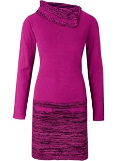 Strickkleid, BODYFLIRT boutique, magenta