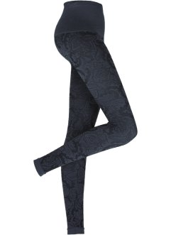 Seamless Leggings mit Bauchweg-Effekt, bpc bonprix collection, gemustert