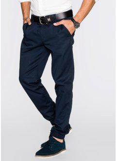 Chinohose Regular Fit, bpc bonprix collection, dunkelblau