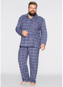 Pyjama en flanelle forme ample, bpc bonprix collection
