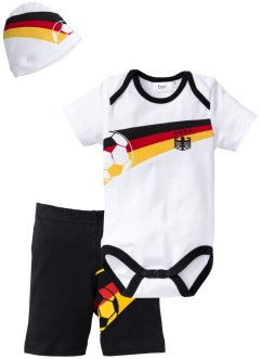 Baby Deutschland-Set (3-tlg.) Bio-Baumwolle, bpc bonprix collection