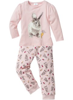 Pyjama (2-tlg. Set), bpc bonprix collection, rosa