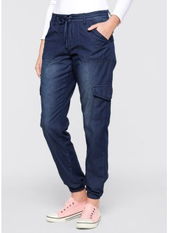 "Jean extensible ""ample"", bpc bonprix collection, dark denim"