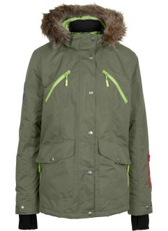 Funktions-Outdoorjacke, bpc bonprix collection, oliv