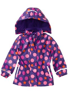Thermo Regenjacke, bpc bonprix collection, lila bedruckt