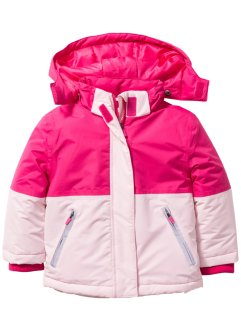 Schneejacke, bpc bonprix collection, zartrosa/dunkelpink