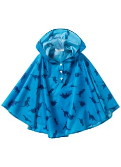 Regenponcho, bpc bonprix collection, capriblau bedruckt