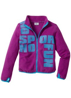 Fleecejacke, bpc bonprix collection, pfingstrose