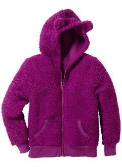 Teddyfleecejacke, bpc bonprix collection, veilchenlila