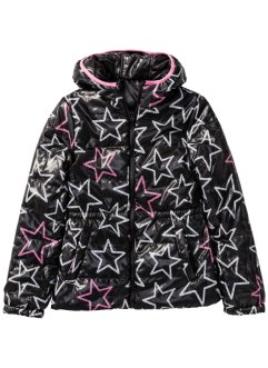 Wendejacke, bpc bonprix collection, schwarz/pink