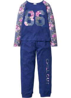 Pyjama (2-tlg. Set), bpc bonprix collection, mitternachtsblau
