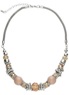 Collier, bpc bonprix collection, hellbraun/silberfarben