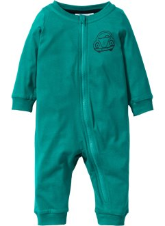 Baby Overall  Bio-Baumwolle, bpc bonprix collection, dunkelsmaragd