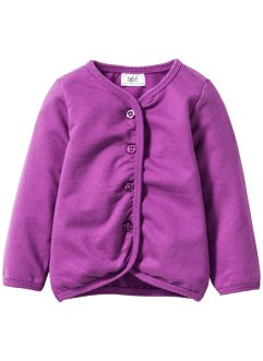 Baby Sweatjacke Bio-Baumwolle, bpc bonprix collection, pfingstrose